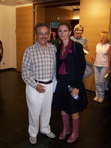Pasquale Matrone e Margaret Mazzantini
