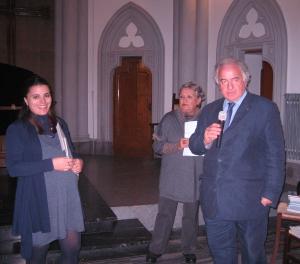 D Episcopo consegna il secondo premio Linda di Giacomo
