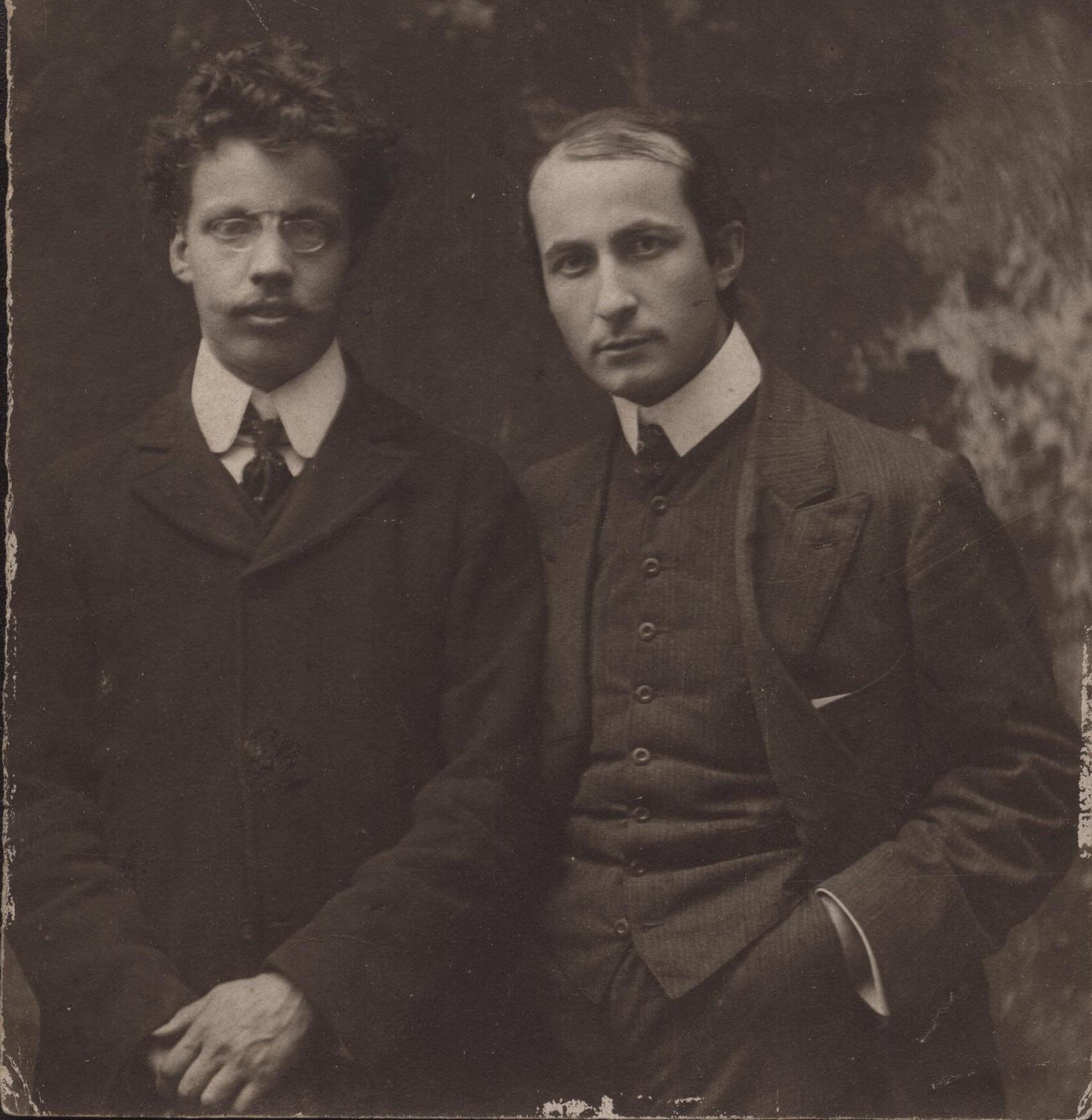 Ritratto-di-Soffici-e-Papini-1909