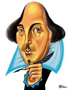 william-shakespeare-carica