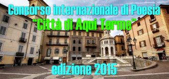 """Premio """"Città di Aqui Terme"""""""